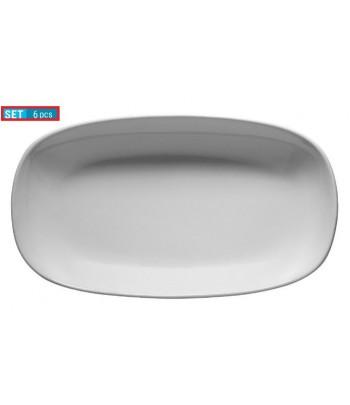 Assiette ovale 34 cm en...