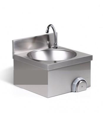 Lave mains inox  commande...