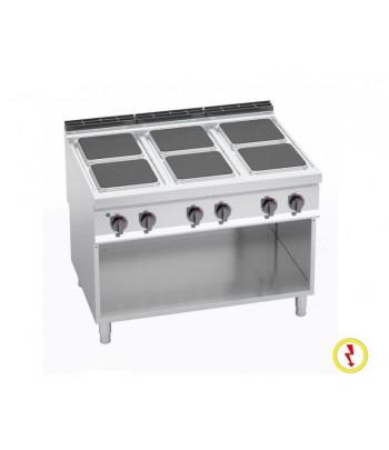 Cuisinière électrique 6...