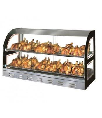 Vitrine chauffante poulet...