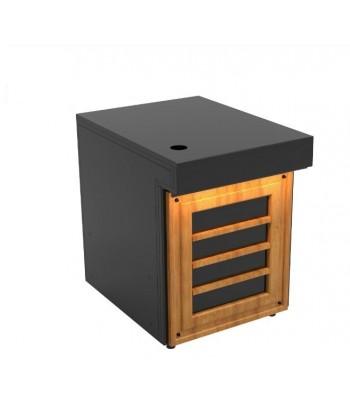 Comptoir de caisse en bois...