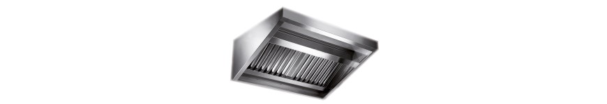 Hotte extraction ventilation pour métiers de bouche et restaurant